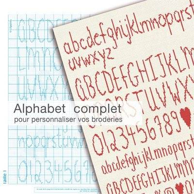 Alphabet complet - Lilipoints CL010