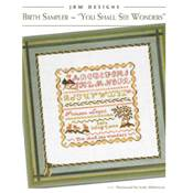 Birth Sampler - You Shall See Wonders - JBW Designs 308