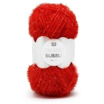Bubble Creative fil éponge rouge 50g