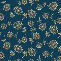 Tissu super bloom Dandelion dusk par 10 cm