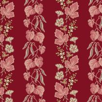 Tissu super bloom Bleeding heart par 10 cm