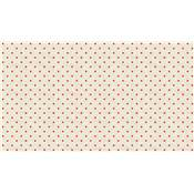 SCANDI B MINI STAR RED 1615/R4 tissu par 10cm