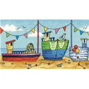 Boats by the sea - HeritageCrafts