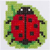 Kit broderie Diamant coccinelle