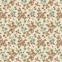 Tissu super bloom Jasmine Sand par 10 cm