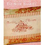 French Country Flower Basket - JBW-178