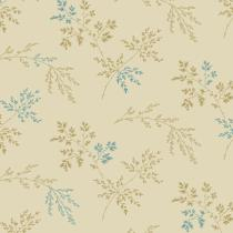 Tissu super bloom Twigs light khaki par 10 cm