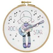 Kit broderie Rock Star +8 ans