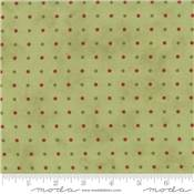 MINICK & SIMPSON 14832-13 Snowfall Prints Garland Green - par 10cm