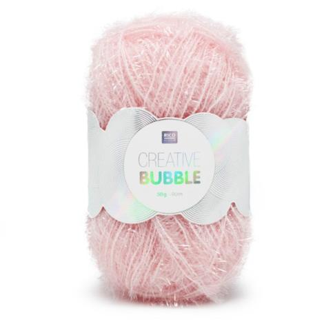 Bubble Creative fil éponge rose 50g