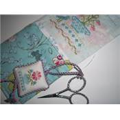 Butterfly Needle Case & Scissors Fob -JBW Designs