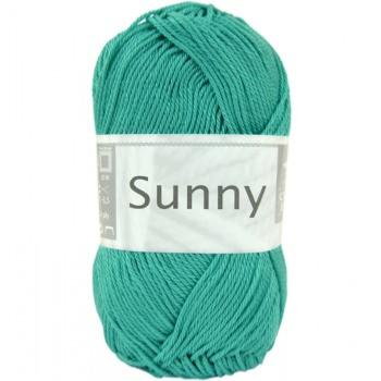 Coton Cheval blanc - sunny 272- turquoise